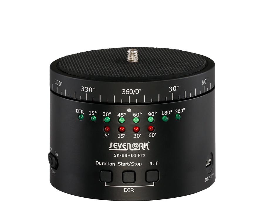 بال هد الکترونیکی پانوراما پایه چرخشی تایم لپس SevenOak مدل SK-EBH01 Pro