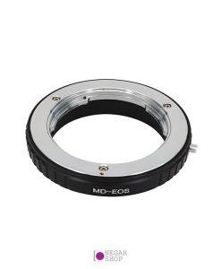 تبدیل لنزهای مینولتا MD به دوربین های کانن EOS بدون عدسی Pixco