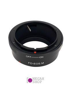 تبدیل Canon FD به EOS M