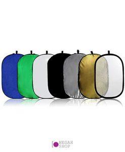 رفلکتور و بکگراند قابل حمل گودکس 150200 سانت هفت کاره مدل Godox Collapsible 7-in-1 Reflector Disc RFT-10