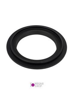رینگ معکوس 52 میلی متر مناسب برای Canon EOS-M