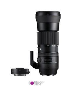 لنز سوپر تله سیگما Sigma 150-600mm F5-6.3 DG OS HSM C برای کانن به همراه تله کانورتور ۱۴۰۱