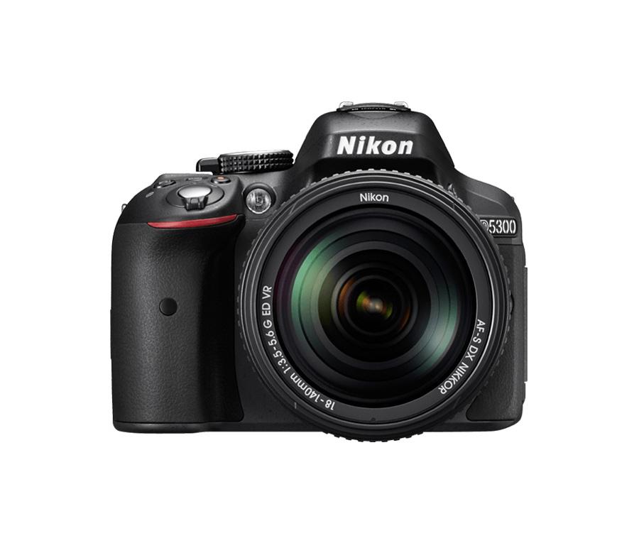 دوربین-عکاسی-حرفه ای-نیکون-nikon-d5300-لنز 140-18