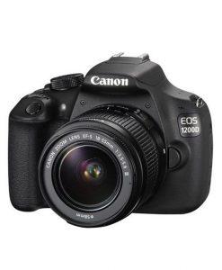 دوربین-عکاسی-حرفه ای-کانن-1200D-CANON-لنز-55-18