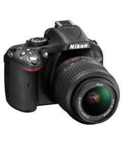 دوربین-عکاسی-حرفه ای-نیکون-d5200-لنز 55-18