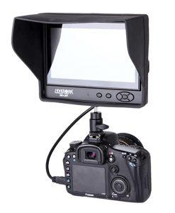 مانیتور 7 اینچ دوربین عکاسی و فیلمبرداری مدل SevenOak SK-LM7 با ورودی hdmi