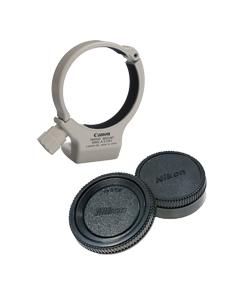 نگه دارنده و در لنز (Lens cap)