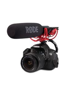 میکروفون روی دوربین DSLR