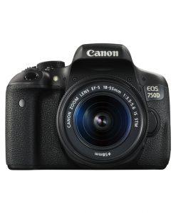 دوربین عکاسی کانن Canon EOS 750D + 18-55 STM