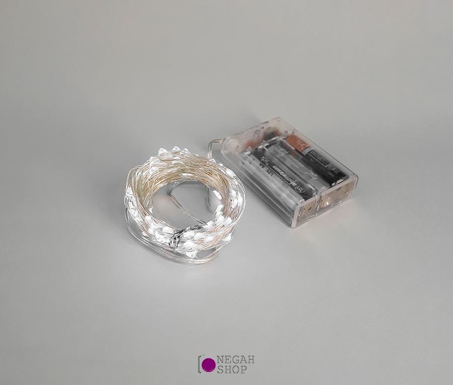 ریسه ال ای دی عکاسی باتری قلمی ۱۰ متری