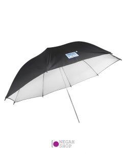 چتر داخل سفید 90 سانت S&S