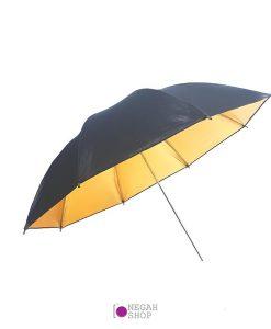چتر داخل طلایی 100 سانت براق