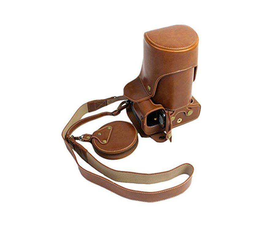 کیف چرم PU مخصوص دوربین