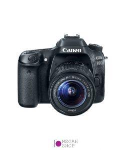 دوربین دیجیتال عکاسی کانن Canon 80D 18-55 f/3.5-5.6 IS STM