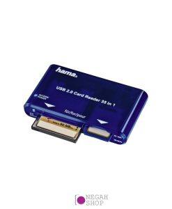 کارت خوان رم ریدر Hama USB 2.0
