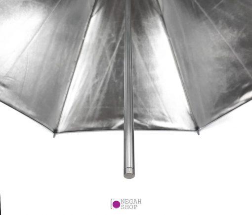 چتر 100 سانت داخل نقره ای phottix