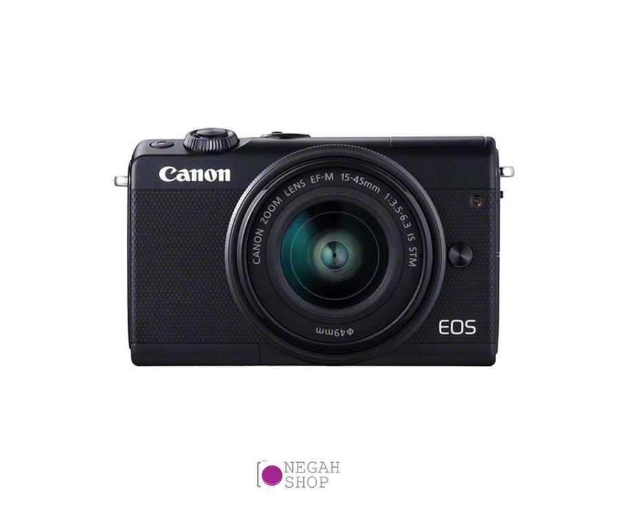 دوربین عکاسی بدون آینه کانن Canon EOS M100 EF-M 15-45mm IS STM