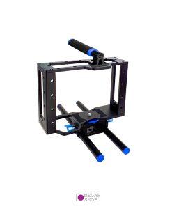 لرزشگیر کوچک Camera cage آبی
