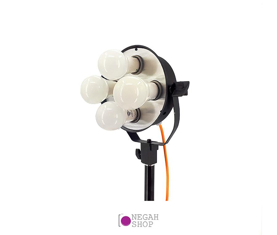 نور فلات چهار لامپی مدل LF