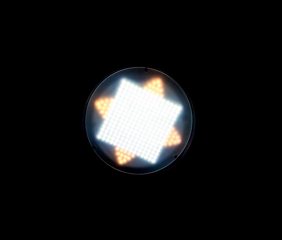 نور فلات گرد مدل SMD S260 پاناسان