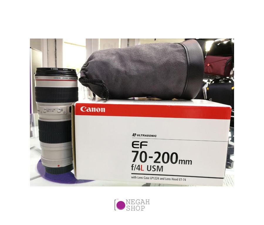 لنز Canon EF 70-200mm f/4L USM دست دوم | Canon EF 70-200