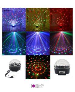 توپ ال ای دی رقص نور با قابلیت پخش موزیک RHD-10