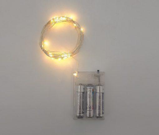 ریسه میکرو ال ای دی عکاسی ۵ متری باتری قلمی