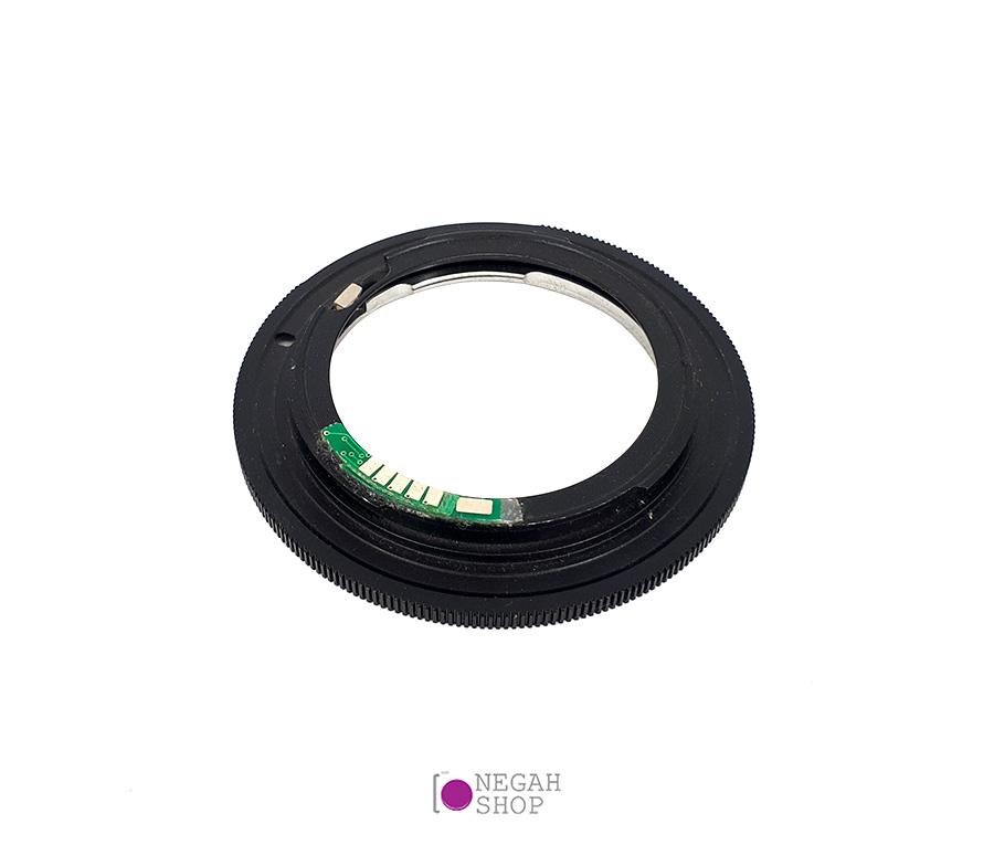 تبدیل لنز های سری Nikon D به EOS چیپ دار