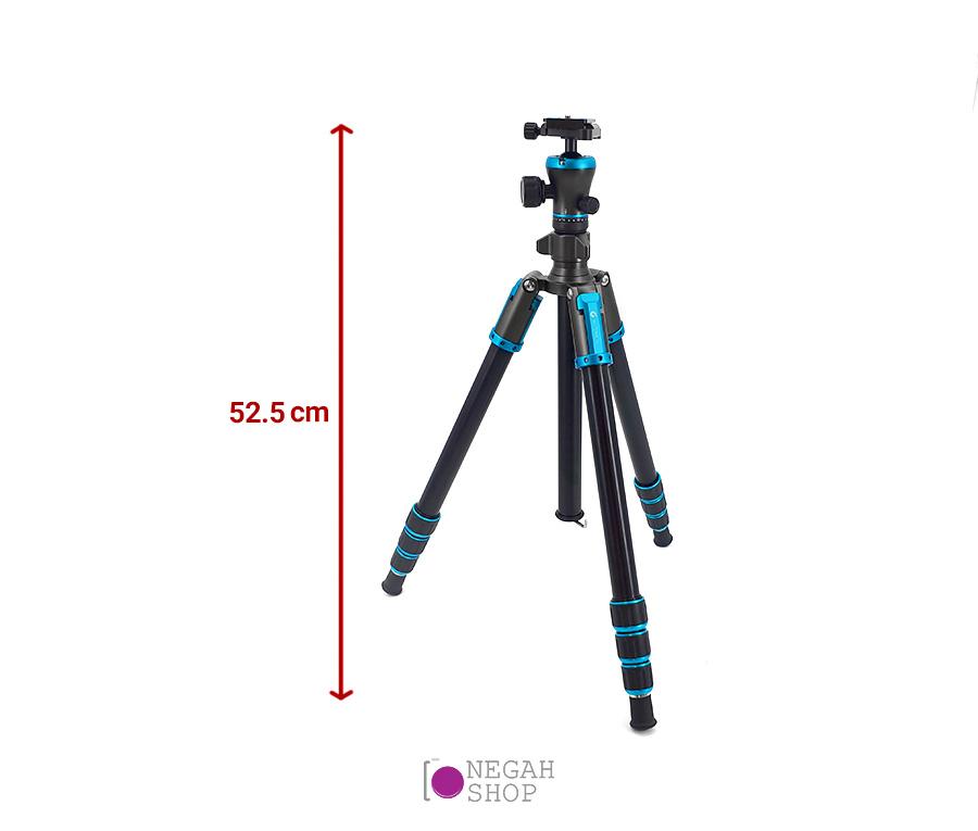 سه پایه دوربین عکاسی Gizomos GAG-602A