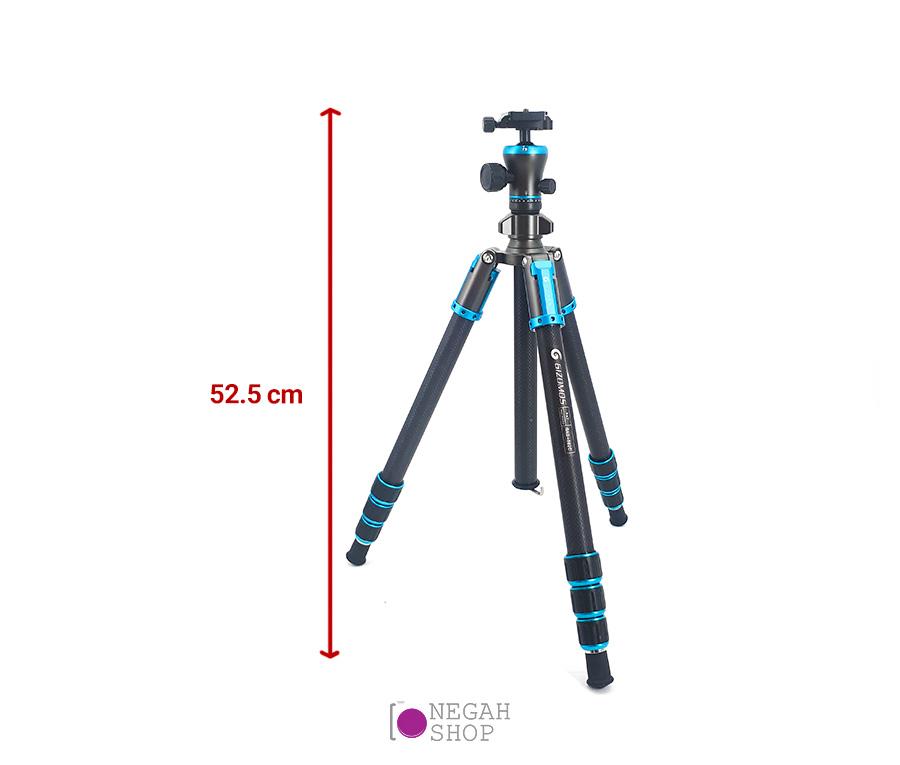 سه پایه دوربین عکاسی Gizomos GAG-602C
