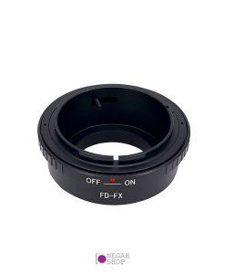 تبدیل لنزهای کانن FD به دوربین های فوجی با مانت FX