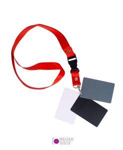 کارت خاکستری گردن آویز