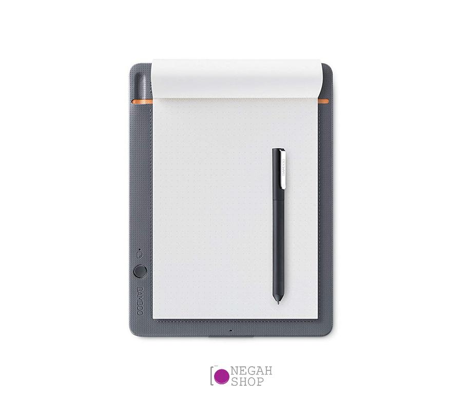 دفترچه یادداشت دیجیتال وکوم مدل Wacom Bamboo Slate | Wacom Bamboo Slate Smartpad Digital Notebook CDS610S