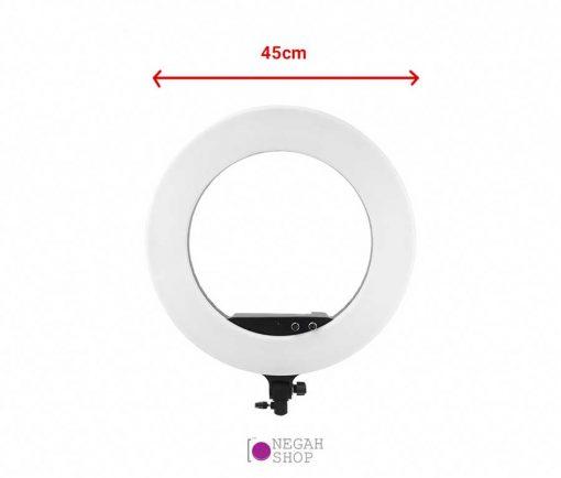 رینگ لایت عکاسی LF-R480 با قدرت 100 وات به همراه کیف