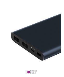 پاوربانک شیائومی 10000 میلی آمپر دو پورت مدل Xiaomi PLM09ZM