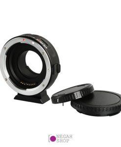 تبدیل لنزهای کانن EFEF-S به دوربین های پاناسونیک M43-MFT برند Viltrox