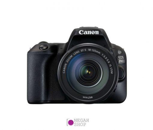 دوربین دیجیتال عکاسی کانن Canon EOS 200D 18-135 IS USM