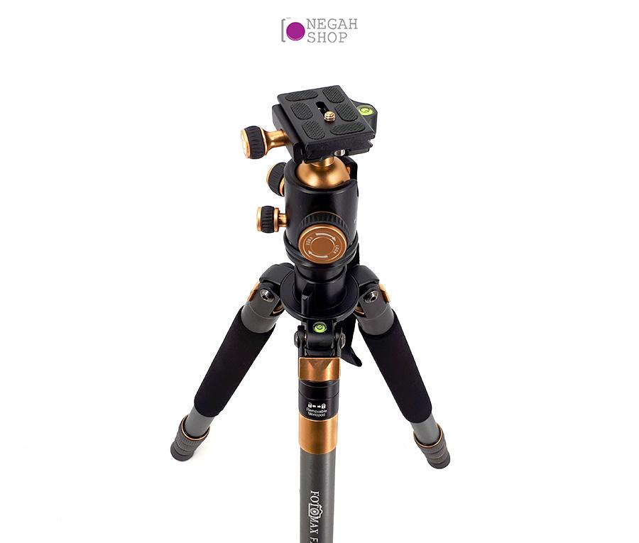 سه پایه دوربین عکاسی مونوپاد دار فوتومکس مدل Fotomax FX-968