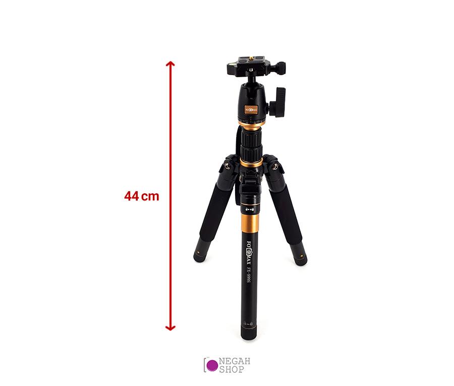 سه پایه دوربین عکاسی مونوپاد دار فوتومکس مدل Fotomax FX-999S