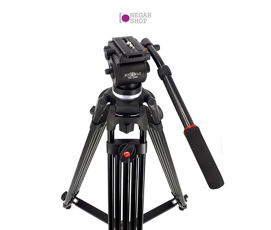 سه پایه فیلم برداری فوتومکس مدل Fotomax FM-508B