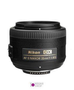 لنز پرایم نیکون Nikon 35mm F1.8G DX