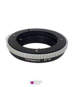 تبدیل لنز های کانتکس یاشیکا G به دوربین های کانن EOS