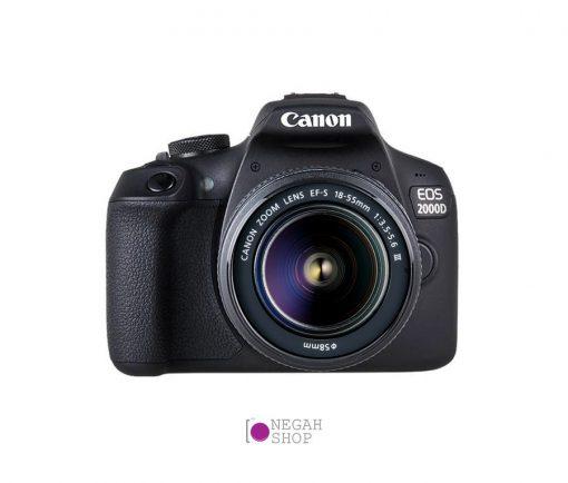 دوربین دیجیتال عکاسی کانن Canon 2000D EF-S 18-55mm III
