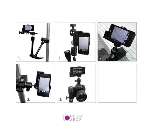 بسته کامل نگهدارنده ی تلفن همراه آی فون Kupo KS-035 iphone Holder Set