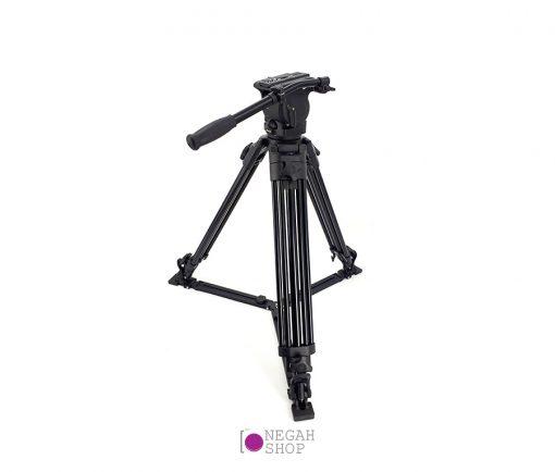 سه پایه فیلمبرداری فنسیر مدل Fancier Fc-590 به همراه هد FC-05H