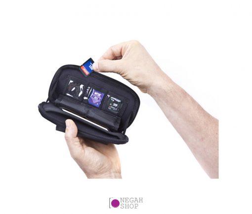 کیف محافظ مموری اسپایدر مدل Spider Memory Card Organizer