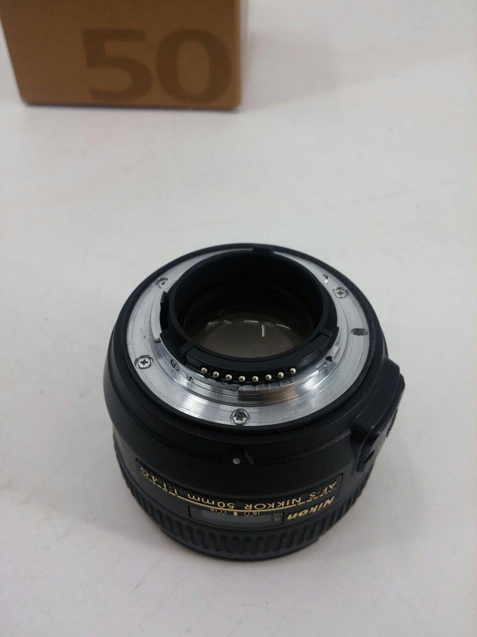 لنز نیکون مدل AF-S NIKKOR 50mm f/1.4G   Nikon AF-S NIKKOR 50mm f/1.4G Lens