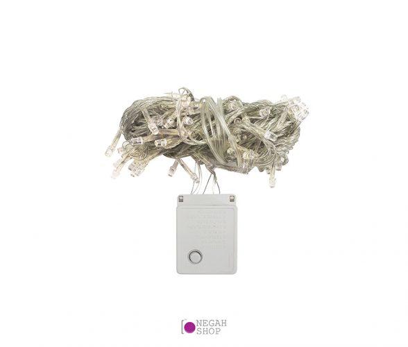 ریسه ال ای دی عکاسی کریسمسی (سوزنی) 10 متری سفید برقی