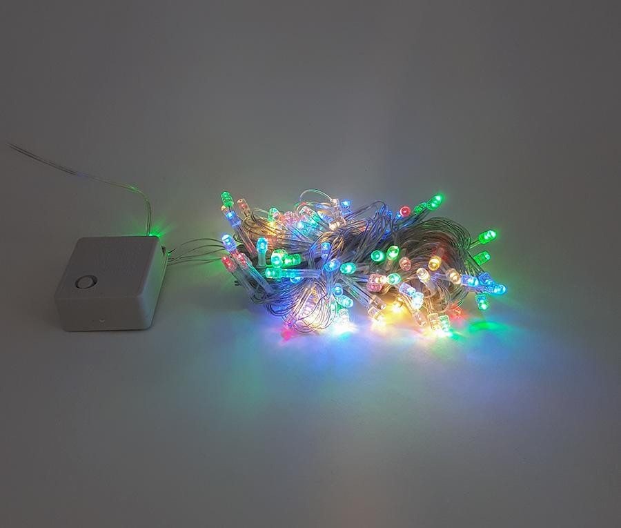 ریسه ال ای دی عکاسی کریسمسی (سوزنی) 10 متری مولتی برقی