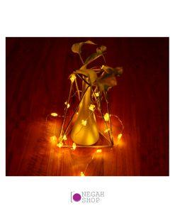 ریسه عکاسی مفتولی ریز پروانه ای آفتابی 2 متری باطری خور
